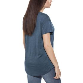 Klättermusen W's Eir SS Shirt Dark Blueberry